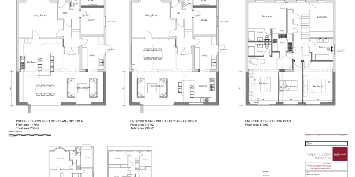 3219 - 002 Draft floor plans 1-50 A1